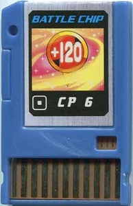 Mega Man Japanese Battle Chip #111 Works with American PET!