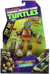 Nickelodeon Teenage Mutant Ninja Turtles Action Figure Power Sound FX Leonardo