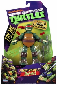 Nickelodeon Teenage Mutant Ninja Turtles Action Figure Power Sound FX Raphael