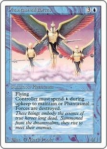 Magic the Gathering Revised Edition Single Card Uncommon Phantasmal Forces