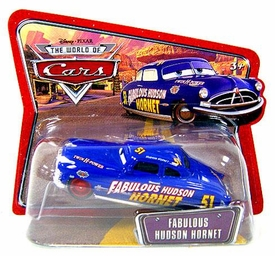 Disney / Pixar CARS Movie 1:55 Die Cast Checkout Lane Package Fabulous Husdon Hornet