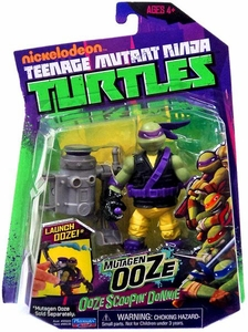 Nickelodeon Teenage Mutant Ninja Turtles Action Figure Ooze Scoopin' Donnie