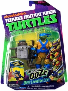 Nickelodeon Teenage Mutant Ninja Turtles Action Figure Ooze Launchin' Leo