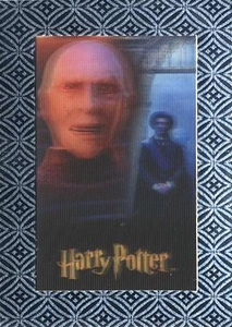 Harry Potter The World of Harry Potter Silver Chase Card UR1 Lord Voldemort & Quirrell