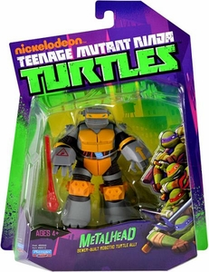 Nickelodeon Teenage Mutant Ninja Turtles Basic Action Figure Metalhead [Sewer Built Robotic Turtle Ally]