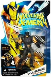Wolverine and the X-Men Animated Action Figure Wolverine [Black X-Factor Costume]