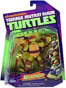 Nickelodeon Teenage Mutant Ninja Turtles Basic Action Figure Michelangelo [Jokester & Hard Hitting Nunchuck Hero]