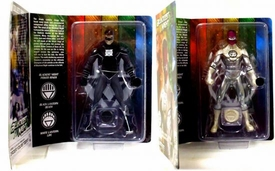 DC Direct Green Lantern Blackest Night 2010 Exclusive Set of Both Action Figures Sinestro White Lantern & Hal Jordan Black Lantern Only 1,500 Made!