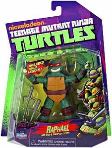 Nickelodeon Teenage Mutant Ninja Turtles Basic Action Figure Raphael [Hot Head & Sharp Sai Expert]