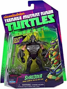 Nickelodeon Teenage Mutant Ninja Turtles Basic Action Figure Shredder [Deadly Leader of the Evil Foot Clan]