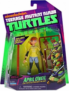 Nickelodeon Teenage Mutant Ninja Turtles Basic Action Figure April O'Neil [Loyal Turtle Ally From Above the Sewer]