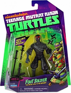 Nickelodeon Teenage Mutant Ninja Turtles Basic Action Figure Foot Soldier [Evil Ninja, Loyal to Shredder]