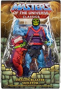 He-Man Masters of the Universe Classics Exclusive Deluxe Action Figure Dragon Blaster Skeletor