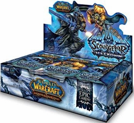 World of Warcraft Scourgewar: Icecrown Booster BOX [24 Packs]