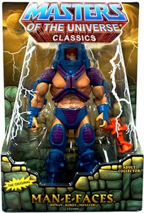 He-Man Masters of the Universe Classics Exclusive Action Figure Man-E-Faces [Second Printing]