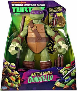 Nickelodeon Teenage Mutant Ninja Turtles 11 Inch Action Figure Battle Shell Donatello