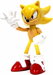 Tomy Gacha Sonic the Hedgehog 2.5 Inch Buildable Mini Figure Super Sonic
