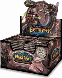 World of Warcraft Servants of the Betrayer Booster Box [24 Packs]