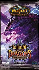 World of Warcraft Trading Card Game Worldbreaker: Twilight of Dragons Booster Pack