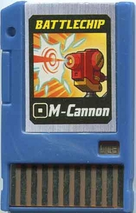Mega Man Japanese Battle Chip #003 Works with American PET!