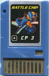 Mega Man Japanese Battle Chip #056 Works with American PET!