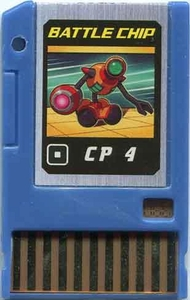 Mega Man Japanese Battle Chip #066 Works with American PET!