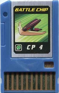 Mega Man Japanese Battle Chip #075 Works with American PET!