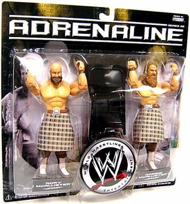 WWE Wrestling Adrenaline Series 26 Action Figure 2-Pack Robbie & Rory McAllister [Highlanders]