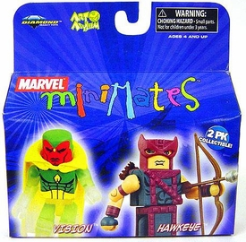 Marvel MiniMates Series 20 Mini Figure 2-Pack Hawkeye & Vision