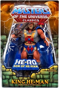 He-Man Masters of the Universe Classics Exclusive Action Figure King He-Man with Subternia Map!