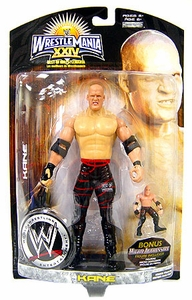 WWE Wrestlemania 24 Exclusive BEST OF Series 1 Action Figure Kane [Includes Bonus Micro Figure!]
