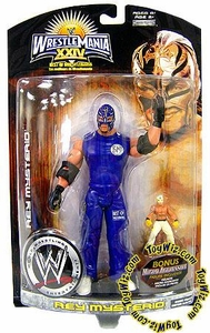 WWE Wrestlemania 24 Exclusive BEST OF Series 1 Action Figure Rey Mysterio [Includes Bonus Micro Figure!]