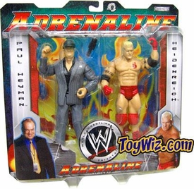WWE Jakks Pacific Wrestling Adrenaline Series 11 Action Figure 2-Pack Paul Heyman & Heidenreich