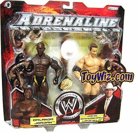 WWE Jakks Pacific Wrestling Adrenaline Series 12 Action Figure 2-Pack JBL & Orlando Jordan