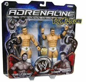 WWE Jakks Pacific Wrestling Adrenaline Series 13 Action Figure 2-Pack Sylvain Grenier & Rob Conway