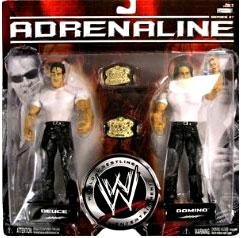 WWE Wrestling Adrenaline Series 27 Action Figure 2-Pack Deuce & Domino