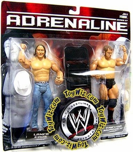 WWE Wrestling Adrenaline Series 27 Action Figure 2-Pack Lance Cade & Trevor Murdoch