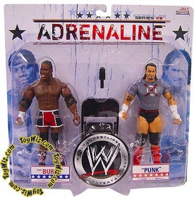 WWE Wrestling Adrenaline Series 28 Action Figure 2-Pack CM Punk & Elijah Burke