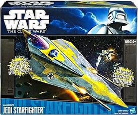 Star Wars 2011 Clone Wars Vehicle Anakin Skywalker's Delta 2 Jedi Starfighter