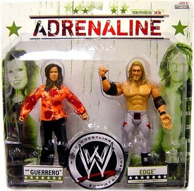 WWE Wrestling Adrenaline Series 33 Action Figure 2-Pack Vickie Guerrero & Edge