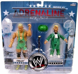 WWE Wrestling Adrenaline Series 34 Action Figure 2-Pack Finlay & Hornswoggle