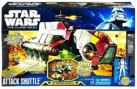 Star Wars 2011 Clone Wars Deluxe Vehicle Republic Attack Shuttle
