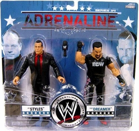 WWE Wrestling Adrenaline Series 34 Action Figure 2-Pack Joey Styles & Tommy Dreamer