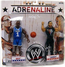 WWE Wrestling Adrenaline Series 29 Action Figure 2-Pack MVP & Matt Hardy