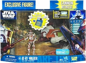 Star Wars 2011 Clone Wars Exclusive Vehicle & Action Figure AT-RT Walker with ARF Trooper