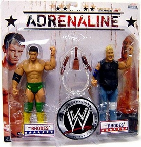 WWE Wrestling Adrenaline Series 2Joe Call9 Action Figure 2-Pack Cody & Dusty Rhodes