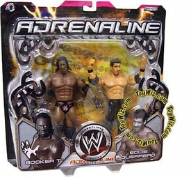WWE Jakks Pacific Wrestling Adrenaline Series 14 Action Figure 2-Pack Booker T & Eddie Guerrero
