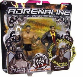WWE Jakks Pacific Wrestling Adrenaline Series 14 Action Figure 2-Pack Muhammad Hassan & Daivari