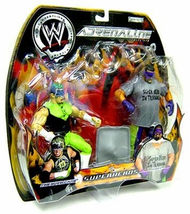 WWE Jakks Pacific Wrestling Adrenaline Series 6 Action Figure 2-Pack The Hurricane & Rosey