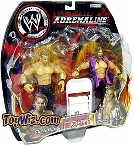 WWE Jakks Pacific Wrestling Adrenaline Series 7 Action Figure 2-Pack Jericho & Christian BLOWOUT SALE!